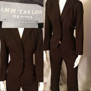 Ann Taylor brown business suit